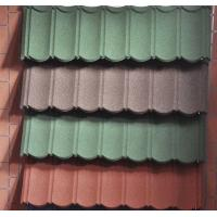 Buy cheap Red color metal roof tile corrugated metal sheet best prices in Srilanka/Aluminium transparent stone coated steel roofin from wholesalers