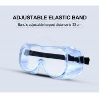 Buy cheap Crystal Transparent PPE Safety Glasses Anti Fog Anti Scratch Safety Goggles from wholesalers