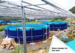 Buy cheap Flange Diameter 40m Fish Farming Water Bladder Tanks from wholesalers