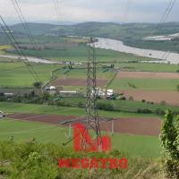 Buy cheap 230KV heavy angle double transmission line steel tower from wholesalers