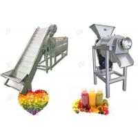 Buy cheap Automatic Complete Fruit Juice Production Line For Commerical CE Standard from wholesalers