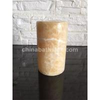 Buy cheap Yellow Onyx Candle Holders onyx lampshade from wholesalers