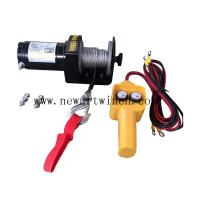 Buy cheap DC12V 1500 Lb Lightweight Electric Winch Cable Pulling Durable 285*105*105mm from wholesalers