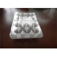 Buy cheap PEC PET 6 Pack Egg Cartons , Lucite Clear Plastic Egg Cartons For Packaging from wholesalers