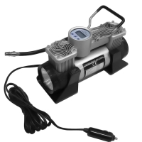 Buy cheap DC 12v Double Cylinder 150 Psi Tire Inflator digital gauge car air compressor from wholesalers