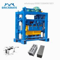 Buy cheap BR4-40 Cheap Simple Manual concrete hollow block making machine price cost for sale from wholesalers