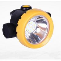 Buy cheap Inductive Charging Coal Miners Hat Light , Rechargeable Miners Headlamp from wholesalers