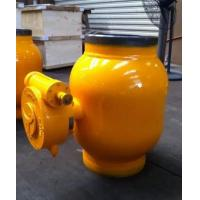 Buy cheap Worm Gear Stainless Steel Material Full Welding Trunnion Mounted Ball Valve from wholesalers