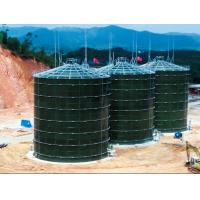 Buy cheap Glass Fused To Steel Industrial Water Tanks Enamel Technology Low Consumption from wholesalers