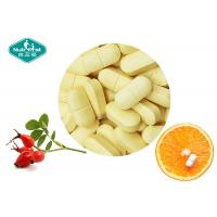 Buy cheap Healthy Vitamin C Dietary Supplement , Vitamin C Soluble Tablets With Rose Hips from wholesalers