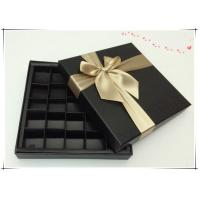 Buy cheap hot-sale chocolate box with divides from wholesalers