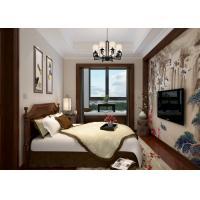 Bedroom Light Grey Modern Removable Wallpaper, Home Decorating Wallpaper