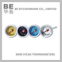 Buy cheap Mini Button Gas Barbecue Grill Thermometers Set of 4 Pack from wholesalers