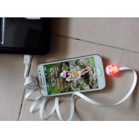Buy cheap Light cartoon rechargeable cable welcome the customers' design product