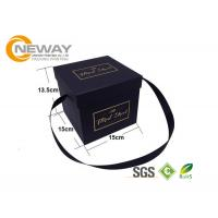 Buy cheap Flower Paper Box , Luxury Custom Square Gift Flower Paper boxes with Square Lids from wholesalers