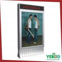 Buy cheap aluminum frame scrolling outdoor advertising light box from wholesalers