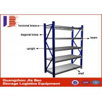 Buy cheap Light / Middle / Heavy Duty Warehouse Storage Racks 100-500 Kg / level from wholesalers