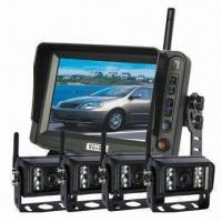Buy cheap Compactor Garbage Truck Rear-view Back-up Camera System with 11 to 32V DC Power Supply from wholesalers