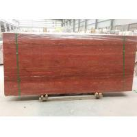 Buy cheap Red Travertine Natural Stone Tiles Countertop Use 20mm Big  Slabs Type from wholesalers