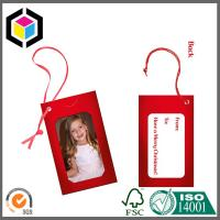 Buy cheap Custom CMYK Full Color Paper Tag Printing Service; Garment Paper Tag Print from wholesalers