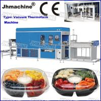 Buy cheap CE Standard PP food grade Trays Automatic Vacuum Thermoforming Machine for sale from wholesalers