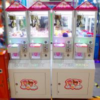 Buy cheap Toy Crane Machine Coin Operated Pusher Arcade Game Toys Gift Vending Machine Catcher Machine Crane Mini Claw Machines from wholesalers