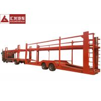 Buy cheap New Design Vehicle Transport Trailer Highly Reliable 2 Axles With Cummins Engine from wholesalers