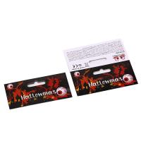 Buy cheap Art Paper Printable Halloween Themed Cards Lamination Surface Finishing from wholesalers