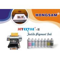 Buy cheap New textile pigment ink III for piezo printhead EPSON printers from wholesalers