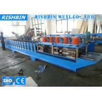Buy cheap Galvanized Roller Shutter Door Frame Roll Forming Machinery with 8 - 12 m / min product