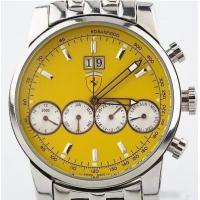 Buy cheap Men's Stainless Steel Ferrari Automatic Watch w/ Chronograph & Clear Back from wholesalers