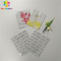 Buy cheap Biodegradable Plastic Foil Bags Three Side Sealed Facial Mask Packaging For Cosmetic from wholesalers
