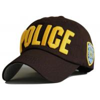 Buy cheap Luxury Embroidery Police Baseball Cap 100% Cotton Parent-Child Hat For Girl Boys Casual Sun Men Bone Fashion Brand Snapb from wholesalers