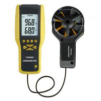 Buy cheap Low Battery Indication and Auto Power Off CFM/CMM Thermo-Anemometer DT-9819 product