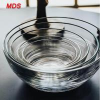 Buy cheap Wholesale clear tempered glass dessert bowl for microwave oven from wholesalers