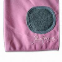Buy cheap Microfiber Suede Cleaning Towel with Scrubber, Measures 30 x 30cm from wholesalers