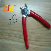 Professional Red Iron Manual Hog Ring Plier With SGS / ROHS Certification