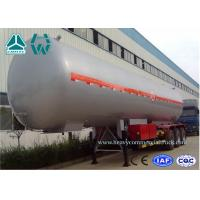 Buy cheap Customized Logo Diesel Fuel Lpg Tank Trailer 200,000 Liters , Round Shape from wholesalers