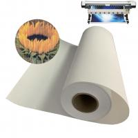 Buy cheap Premium Inkjet Waterproof Canvas Fabric / Matte Art Printing Poly Cotton Canvas Roll from wholesalers