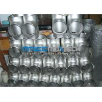 Buy cheap Stainless Steel Flanges Pipe Fittings  300 Series Raw Material ISO 9001 / PED from wholesalers