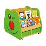 Buy cheap Nursery School Hot Sale Oak Wooden Kids Book Shelf Wooden Storage Shelves School Library Book Shelf from wholesalers