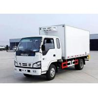Buy cheap 3-5 Tons ISUZU 4×2 Refrigerated Van Truck , Freezer Box Vehicle For Meat / Fish from wholesalers