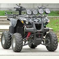 Buy cheap Electric Atv Quad Bike 1500W / 2000W DC Brushless Motor With Four Bright Lights from wholesalers