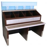 Buy cheap power tools display,Wooden Cosmetic Display Stand, Wooden Floor Cosmetic Display Stand from wholesalers