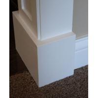 Buy cheap Economic Mothproof PVC baseboard / skirting board for indoor decoration from wholesalers