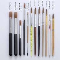 Buy cheap Nail Art Brush Nail Painting Kolinsky Brush from wholesalers
