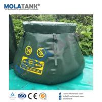 Buy cheap Mola Tank  recycled affordable callapsible durable strong PVC/PE/TPU fabric storage water bladd from wholesalers