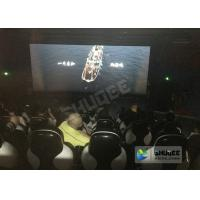 Buy cheap Red / Black 5D Movie Theater For 5 Persons With Fiber Glass Material product