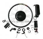 Buy cheap 38Km / H Electric Bike Conversion Kits 26 Inch Wheel 16Kgs Disc Brake Powerful Rear Gear Motor product