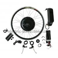 Buy cheap 38Km / H Electric Bike Conversion Kits 26 Inch Wheel 16Kgs Disc Brake Powerful Rear Gear Motor product